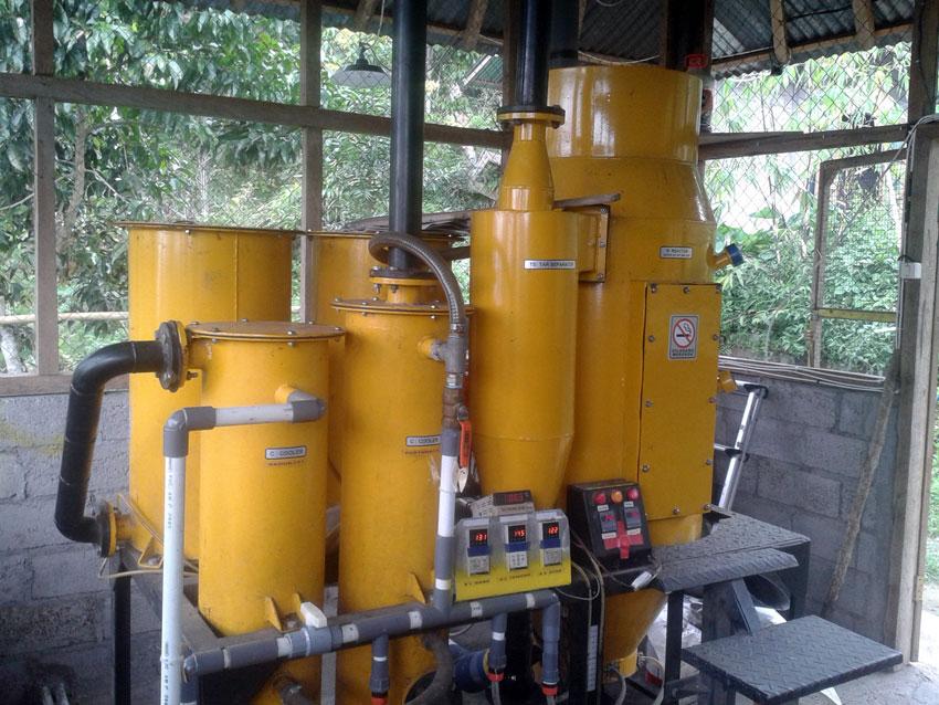 TG 70 Gasifier MDK